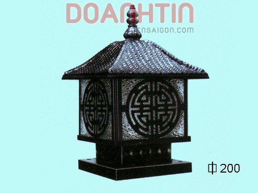 Đèn Gắn Cổng Phong Cách Hàn Quốc - Densaigon.com