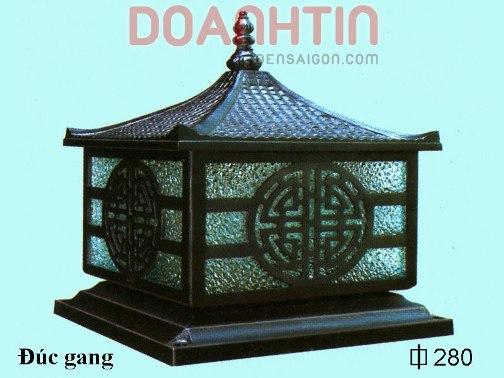 Đèn Gắn Cổng Đúc Gang Trang Trí Ngoại Thất - Densaigon.com