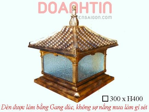 Đèn Cổng Gang Giả Đồng Trang Trí Ngoại Thất - Densaigon.com
