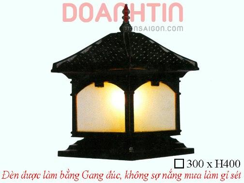 Đèn Cổng Đẹp Cao Cấp Thiết Kế Đồng Màu - Densaigon.com