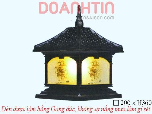 Đèn Cổng Đẹp Cao Cấp Thiết Kế Cổ Điển - Densaigon.com