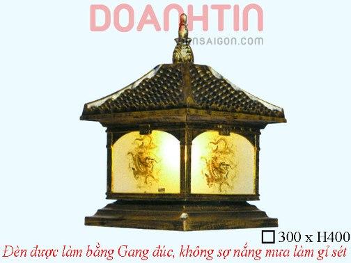 Đèn Cổng Giả Đồng Kiểu Dáng Cầu Kỳ - Densaigon.com