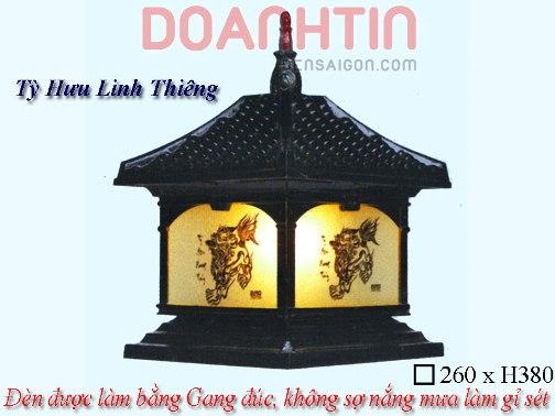 Đèn Gắn Cổng Đẹp Kiểu Dáng Tinh Xảo - Densaigon.com