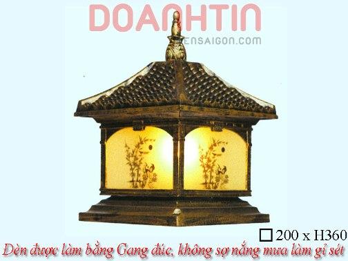 Đèn Cổng Giả Đồng Trang Trí Nhà Phố - Densaigon.com