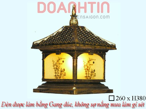 Đèn Cổng Giả Đồng Trang Trí Biệt Thự - Densaigon.com