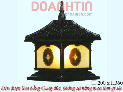Đèn Cổng Đẹp Trang Trí Nhà Phố - Densaigon.com