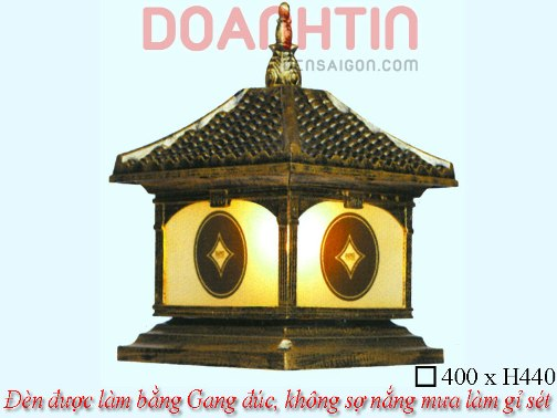Đèn Cổng Giả Đồng Đẹp Phong Cách Quí Phái - Densaigon.com