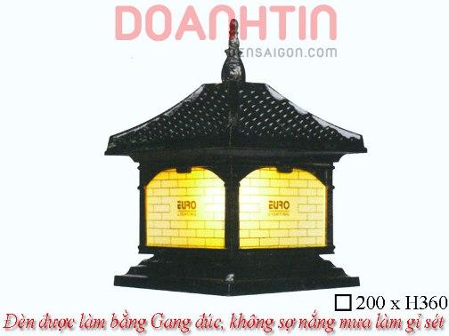Đèn Cổng Đẹp Thiết Kế Cầu Kỳ - Densaigon.com
