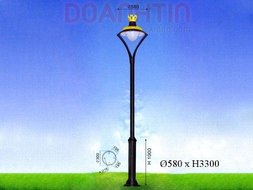 Đèn Trụ Sân Vườn Đẹp Kiểu Dáng Tối Giản - Densaigon.com