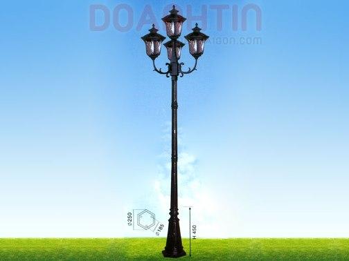 Đèn Trụ Khuôn Viên Đẹp Kiểu Dáng Cầu Kỳ - Densaigon.com