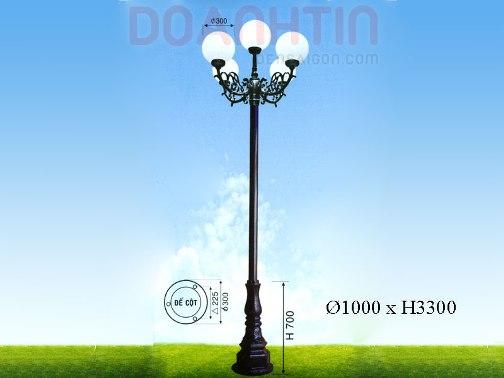Đèn Trụ Mẫu Mã Đẹp - Densaigon.com