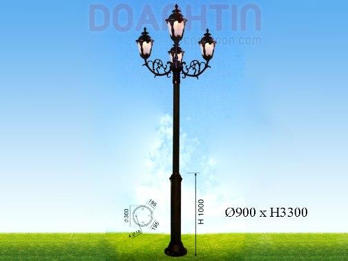 Đèn Trụ Kiểu Dáng Nổi Bật - Densaigon.com