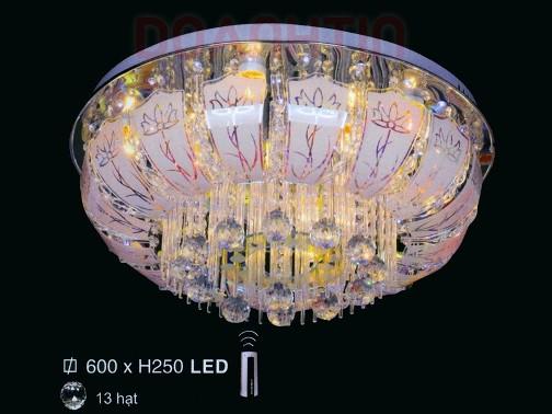 Đèn Chùm LED Tròn Hình Oval Đẹp Treo Phòng Ăn - Densaigon.com