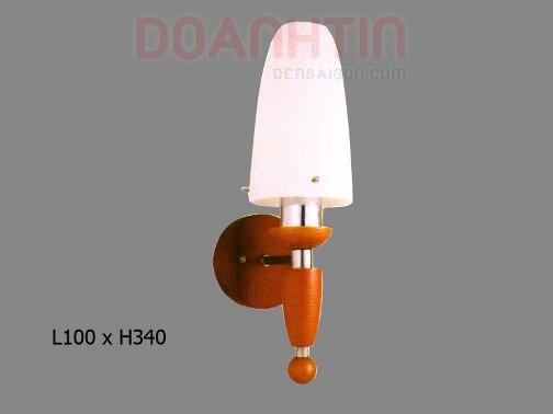 Đèn Tưởng Gỗ Thiết Kế Gọn - Densaigon.com