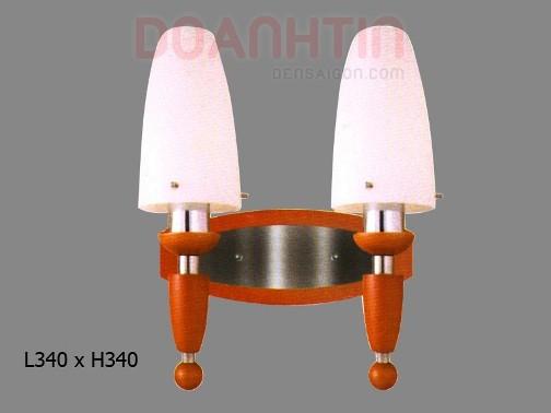 Đèn Tưởng Gỗ Thiết Kế Nhẹ Nhàng - Densaigon.com