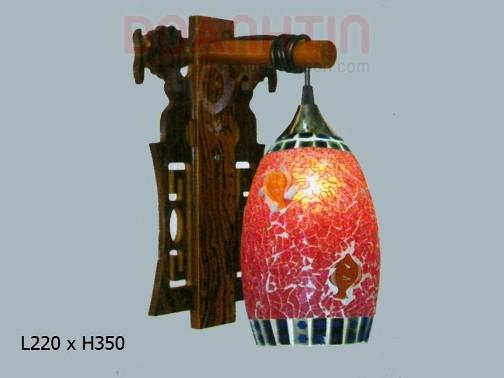 Đèn Tưởng Gỗ Thiết Kế Cầu Kỳ - Densaigon.com