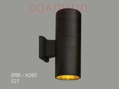 Đèn Tường Ngoại Thất Kiểu Dáng Đơn Giản - Densaigon.com