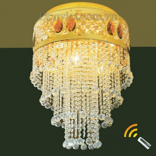 Đèn Chùm LED Thả Pha Lê Phong Cách Sang Trọng - Densaigon.com