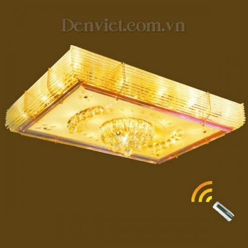 Đèn Chùm LED Pha Lê Treo Phòng Khách Hiện Đại - Densaigon.com