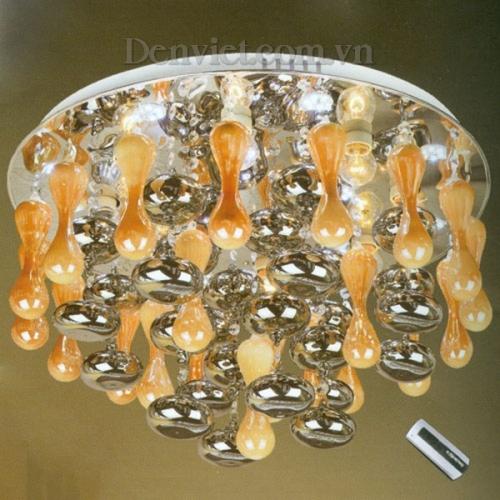 Đèn Chùm LED Thiết Kế Độc Đáo Treo Phòng Khách - Densaigon.com