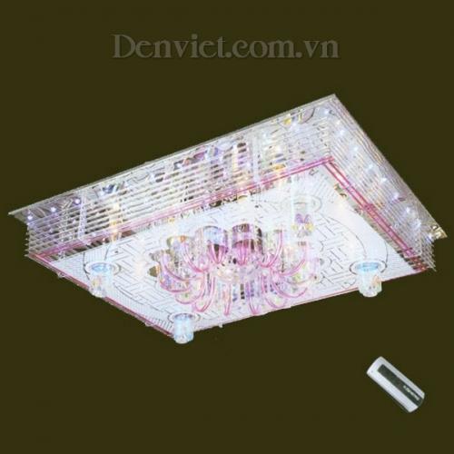 Đèn Chùm LED Chữ Nhật Kiểu Dáng Sang Trọng - Densaigon.com