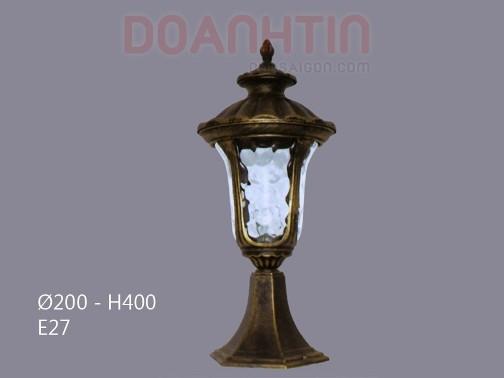 Đèn Gắn Cổng Kiểu Dáng Lôi Cuốn - Densaigon.com