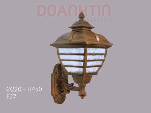 Đèn Vách Ngoại Thất Trang Trí Căn Hộ - Densaigon.com