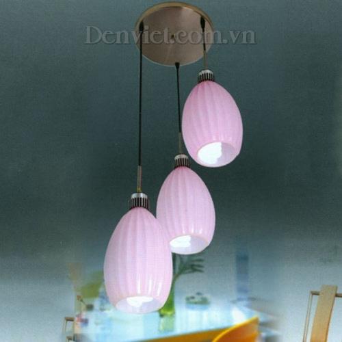 Đèn Thả Bàn Ăn Màu Hồng - Densaigon.com