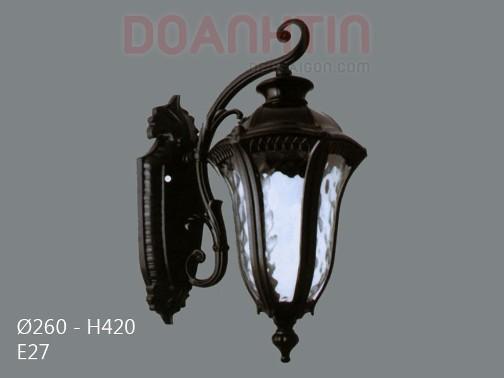 Đèn Vách Ngoại Thất Trang Trí Nhà Phố - Densaigon.com