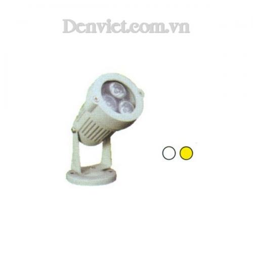 Đèn Ghim Cỏ Màu Trắng - Densaigon.com