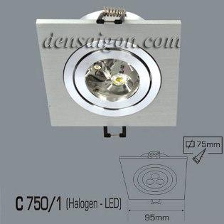 Đèn Mắt Ếch LED Thiết Kế Đồng Màu - Densaigon.com