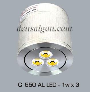 Đèn Lon Nổi LED Thiết Kế Tinh Tế - Densaigon.com