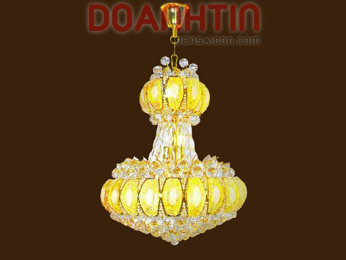 Đèn Chùm Pha Lê Trang Trí Phòng Khách Cao Cấp - Densaigon.com