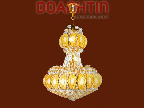 Đèn Chùm Pha Lê Phòng Khách Trang Trí Nội Thất  - Densaigon.com