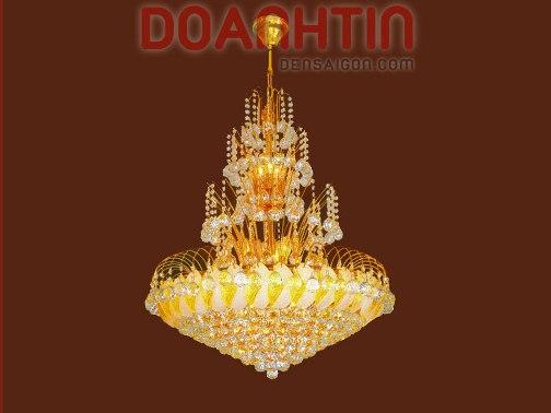 Đèn Chùm Pha Lê Phòng Khách Kiểu Dáng Lôi Cuốn - Densaigon.com