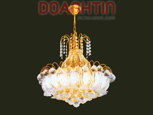 Đèn Chùm Pha Lê Treo Phòng Khách Tinh Tế - Densaigon.com