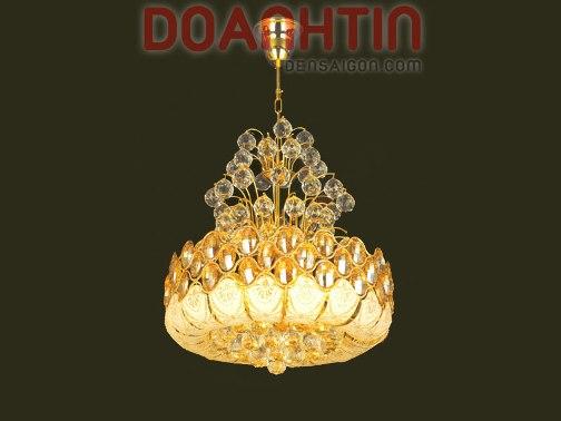 Đèn Chùm Pha Lê Trang Trí Phòng Khách  - Densaigon.com