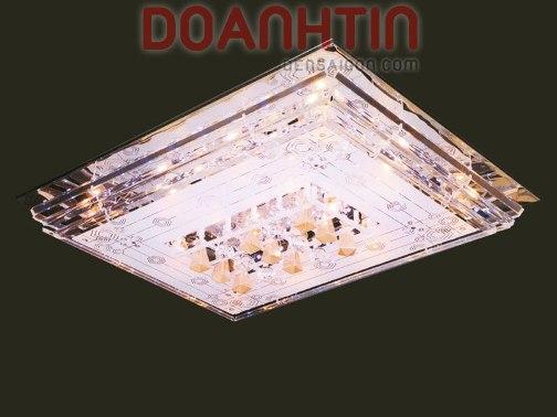 Đèn Chùm LED Chữ Nhật Thiết Kế Hiện Đại Giá Rẻ - Densaigon.com