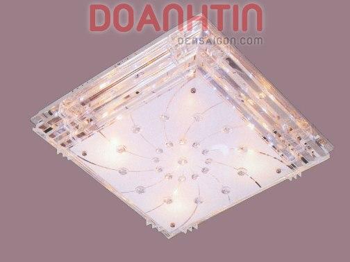 Đèn Chùm LED Vuông Kiểu Áp Trần Trang Trí Nhà Phố - Densaigon.com