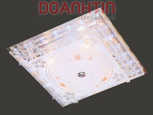 Đèn Chùm LED Vuông Tạo Không Gian Lãng Mạn - Densaigon.com