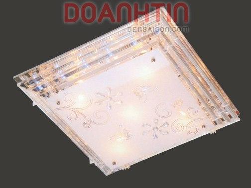 Đèn Chùm LED Hình Vuông Treo Phòng Ngủ Đẹp Giá Rẻ - Densaigon.com