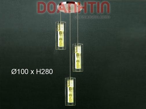 Đèn Thả Thủy Tinh Phong Cách Nhẹ Nhàng - Densaigon.com