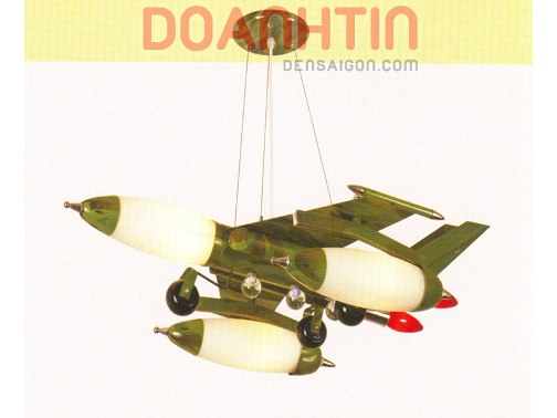 Đèn Thả Trẻ Em Hình Máy Bay Chiến Đấu - Densaigon.com