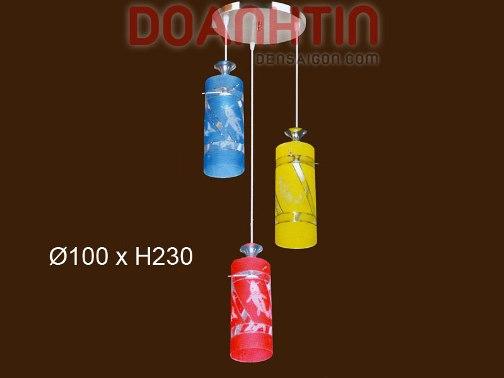 Đèn Thả Thủy Tinh Trang Trí Nội Thất - Densaigon.com