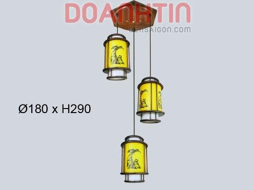 Đèn Thả Da Dê Kiểu Dáng Nổi Bật - Densaigon.com