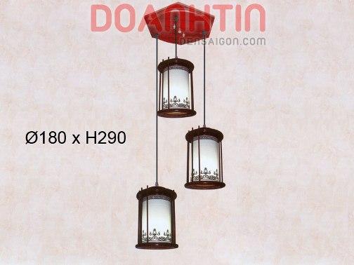 Đèn Thả Da Dê Kiểu Dáng Hiện Đại - Densaigon.com