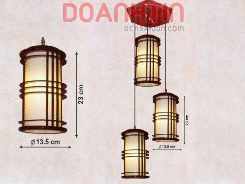 Đèn Thả Da Dê Kiểu Dáng Lôi Cuốn - Densaigon.com