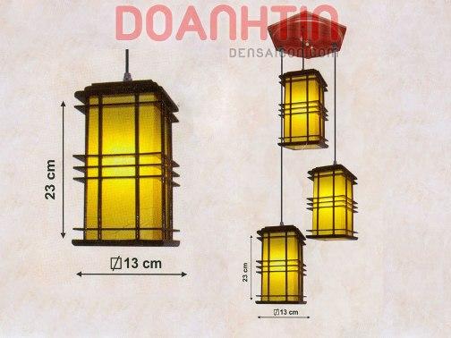 Đèn Thả Da Dê Kiểu Dáng Bắt Mắt - Densaigon.com