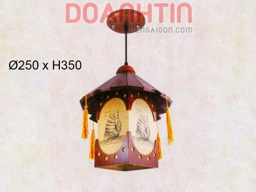Đèn Thả Da Dê Phong Cách Ấn Tượng - Densaigon.com