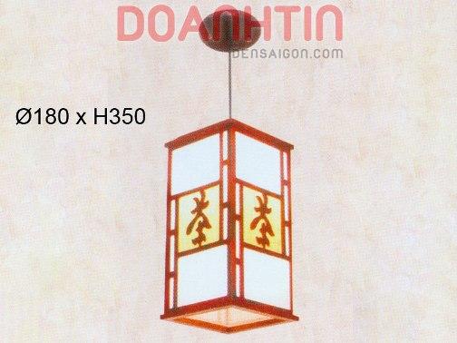 Đèn Thả Da Dê Phong Cách Lãng Mạn - Densaigon.com
